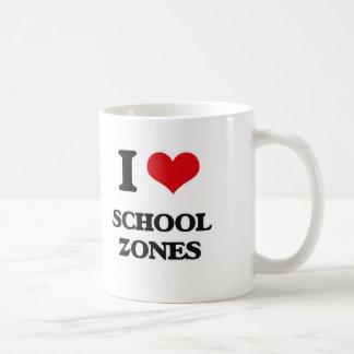 I Love School Zones Coffee Mug