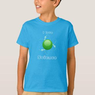 """""""I Love Science"""" Atom T-Shirt"""