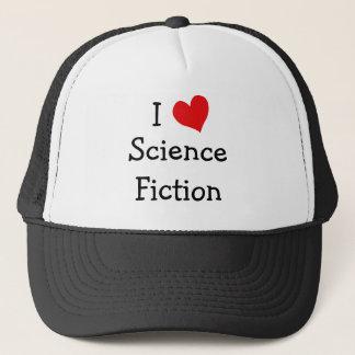 I Love Science Fiction Trucker Hat