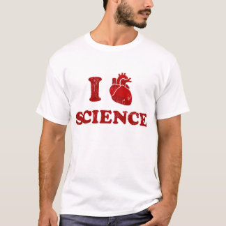 i love science / i heart science / anatomy T-Shirt