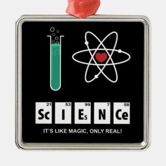 I Love Science - Ornament