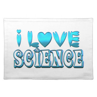 I Love Science Placemat