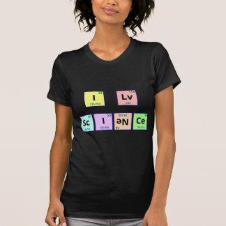 I Love Science Tee Shirts