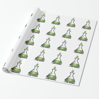 I Love Science Wrapping Paper