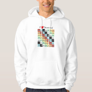 I Love Scooters! Hoodie