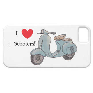 I love Scooters! Iphone 5 Case