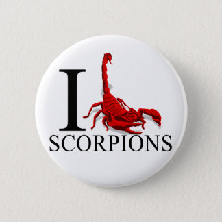 I Love Scorpions Buttons