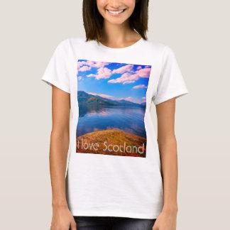I love Scotland a T- shirt with Loch Lomond.
