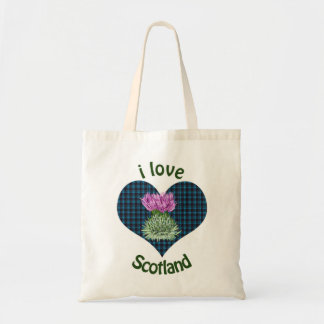 I Love Scotland Hearts and Thistles