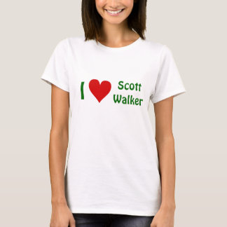 I Love Scott Walker t-shirt - ALL PROCEEDS DONATED