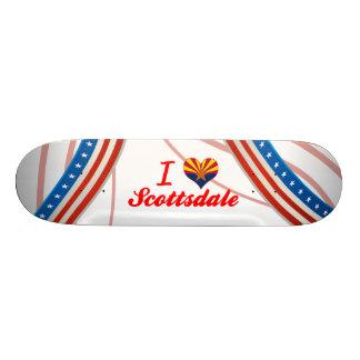 I Love Scottsdale Arizona Custom Skateboard
