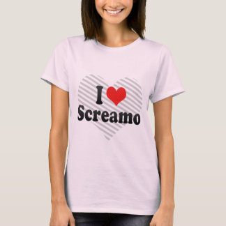 I Love Screamo T-Shirt