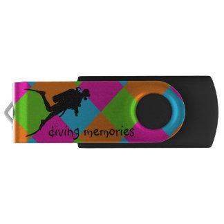 I love scuba diving USB flashdrive USB Flash Drive