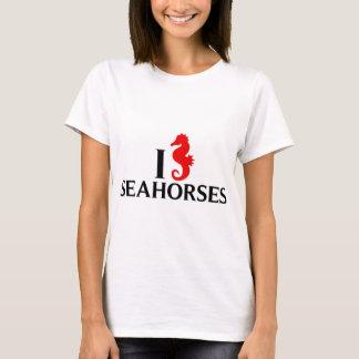 I Love Sea Horses, Seahorses T-Shirt
