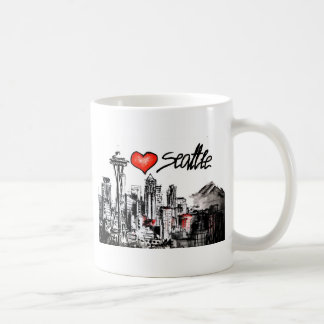 I love Seattle Coffee Mug