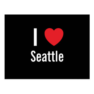 I love Seattle Post Cards
