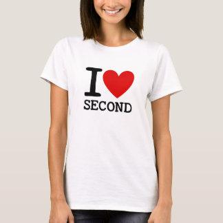 I Love Second Grade Teacher Shirt