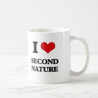I Love Second Nature Coffee Mug