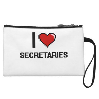 I love Secretaries Wristlet Purses