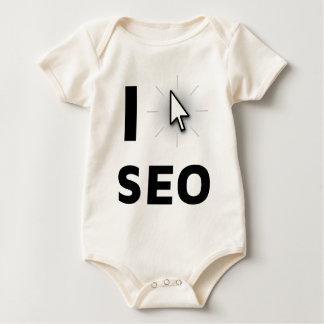 I love SEO Baby Bodysuit