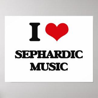 I Love SEPHARDIC MUSIC Poster