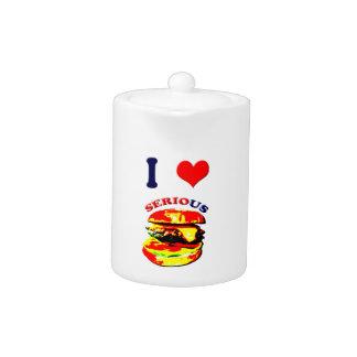 I Love Serious Burgers