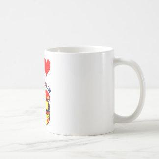 I Love Serious Burgers Classic White Coffee Mug