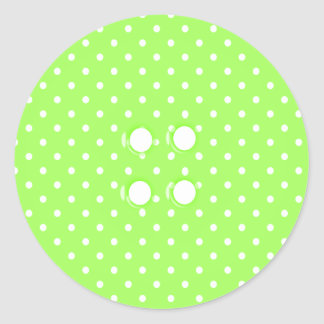 I Love Sewing - SRF Classic Round Sticker