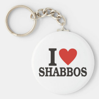 I love Shabbos Keychain