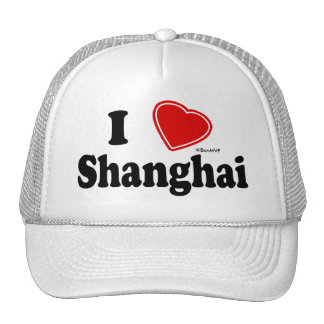 I Love Shanghai Trucker Hat
