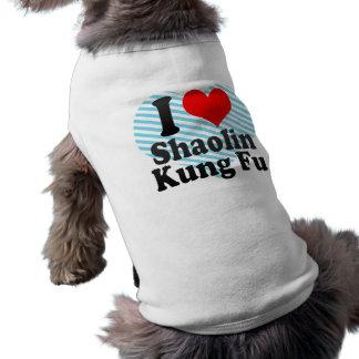 I love Shaolin Kung Fu Shirt