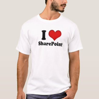 I Love SharePoint T-Shirt