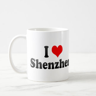 I Love Shenzhen, China. Wo Ai Shenzhen, China Coffee Mug