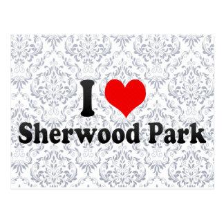 I Love Sherwood Park, Canada Postcard