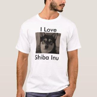 I love Shiba Inu T-Shirt