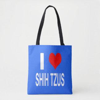 I Love Shih tzus Tote bag, Shihtzu