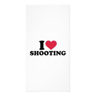 I love shooting photo card