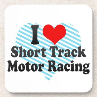 I love Short Track Motor Racing Coasters