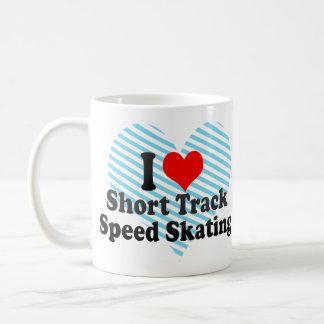 I love Short Track Speed Skating Mug