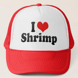 I Love Shrimp Trucker Hat