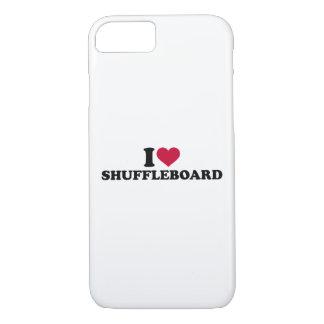 I love Shuffleboard iPhone 7 Case