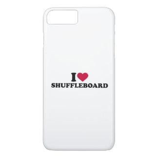I love Shuffleboard iPhone 7 Plus Case