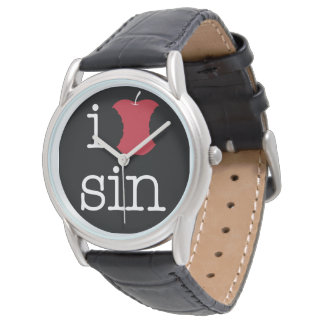 I Love Sin Wristwatch