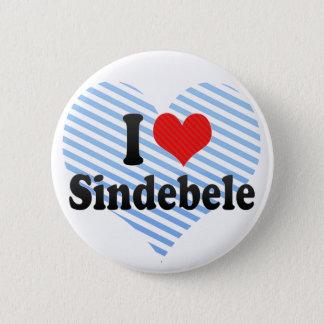 I Love Sindebele 2 Inch Round Button