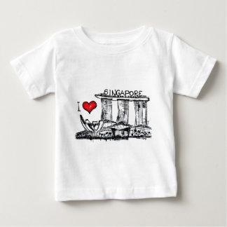 I love Singapore Baby T-Shirt