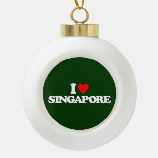 I LOVE SINGAPORE ORNAMENT