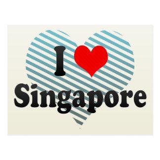 I Love Singapore, Singapore Postcard
