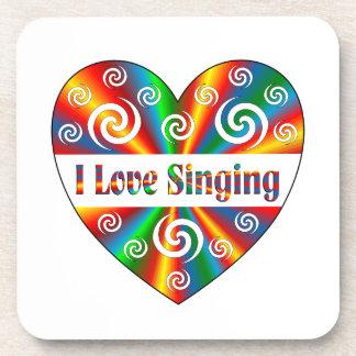 I Love Singing Beverage Coaster