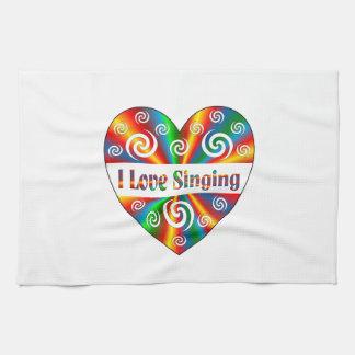 I Love Singing Kitchen Towels