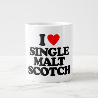 I LOVE SINGLE MALT SCOTCH LARGE COFFEE MUG